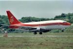 LEVEL789さんが、岡山空港で撮影した香港ドラゴン航空 737-2S3/Advの航空フォト(写真)