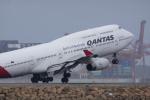 かずまっくすさんが、シドニー国際空港で撮影したカンタス航空 747-438の航空フォト(写真)