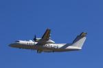 F-4さんが、横田基地で撮影したアメリカ企業所有 DHC-8-315B Dash 8の航空フォト(写真)