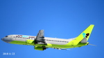 SNAKEさんが、新千歳空港で撮影したジンエアー 737-86Nの航空フォト(写真)