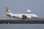 かずまっくすさんが、シドニー国際空港で撮影したエティハド航空 A380-861の航空フォト(写真)