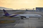 空が大好き!さんが、関西国際空港で撮影したタイ国際航空 777-3D7の航空フォト(写真)