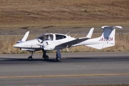 HEATHROWさんが、新潟空港で撮影したアルファーアビエィション DA42 TwinStarの航空フォト(写真)