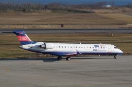 HEATHROWさんが、新潟空港で撮影したアイベックスエアラインズ CL-600-2C10 Regional Jet CRJ-702ERの航空フォト(写真)