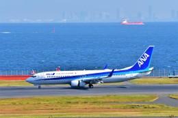 Hiro Satoさんが、羽田空港で撮影した全日空 737-881の航空フォト(飛行機 写真・画像)