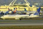 masa707さんが、ロサンゼルス国際空港で撮影したコパ航空 737-8V3の航空フォト(写真)