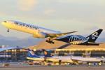 masa707さんが、ロサンゼルス国際空港で撮影したニュージーランド航空 777-319/ERの航空フォト(写真)