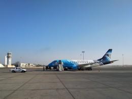 ルクソール国際空港 - Luxor International Airport [LXR/HELX]で撮影されたルクソール国際空港 - Luxor International Airport [LXR/HELX]の航空機写真