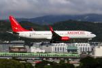 HLeeさんが、台北松山空港で撮影したイースター航空 737-9GP/ERの航空フォト(写真)
