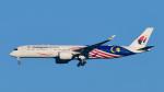 パンダさんが、成田国際空港で撮影したマレーシア航空 A350-941XWBの航空フォト(写真)