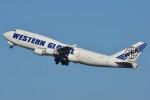 デルタおA330さんが、成田国際空港で撮影したウエスタン・グローバル・エアラインズ 747-446(BCF)の航空フォト(写真)