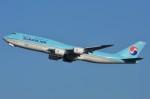 デルタおA330さんが、成田国際空港で撮影した大韓航空 747-8B5の航空フォト(写真)