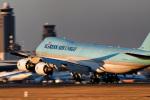パンダさんが、成田国際空港で撮影した大韓航空 747-8B5F/SCDの航空フォト(写真)