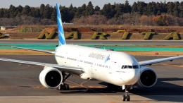 誘喜さんが、成田国際空港で撮影したガルーダ・インドネシア航空 777-3U3/ERの航空フォト(写真)