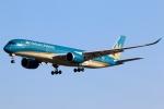 まえちんさんが、成田国際空港で撮影したベトナム航空 A350-941XWBの航空フォト(写真)