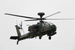 レガシィさんが、宇都宮飛行場で撮影した陸上自衛隊 AH-64Dの航空フォト(写真)