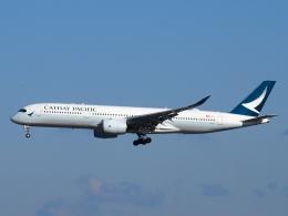 SK51Aさんが、成田国際空港で撮影したキャセイパシフィック航空 A350-941XWBの航空フォト(写真)