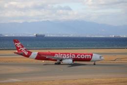 わんだーさんが、中部国際空港で撮影したタイ・エアアジア・エックス A330-343Xの航空フォト(写真)