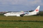 sumihan_2010さんが、宮古空港で撮影した日本トランスオーシャン航空 737-8Q3の航空フォト(写真)