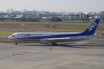 神宮寺ももさんが、伊丹空港で撮影した全日空 767-381/ERの航空フォト(写真)