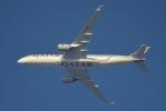 cornicheさんが、ドーハ・ハマド国際空港で撮影したカタール航空 A350-941XWBの航空フォト(写真)