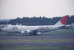 プルシアンブルーさんが、成田国際空港で撮影した日本アジア航空 747-246Bの航空フォト(写真)