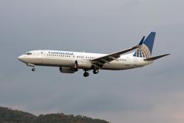 Gambardierさんが、岡山空港で撮影したコンチネンタル航空 737-824の航空フォト(写真)