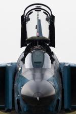 岡崎美合さんが、新田原基地で撮影した航空自衛隊 RF-4E Phantom IIの航空フォト(写真)