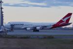 harahara555さんが、羽田空港で撮影したカンタス航空 747-438/ERの航空フォト(写真)