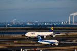 ツバサさんが、羽田空港で撮影したルフトハンザドイツ航空 747-830の航空フォト(写真)