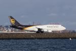 かずまっくすさんが、シドニー国際空港で撮影したUPS航空 747-45E(BDSF)の航空フォト(写真)