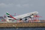かずまっくすさんが、シドニー国際空港で撮影したエミレーツ航空 777-31H/ERの航空フォト(写真)