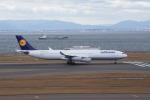 チャーリー・RYOさんが、中部国際空港で撮影したルフトハンザドイツ航空 A340-313Xの航空フォト(写真)