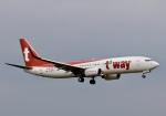 ザキヤマさんが、熊本空港で撮影したティーウェイ航空 737-8Q8の航空フォト(写真)