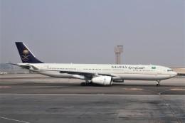 BTYUTAさんが、カイロ国際空港で撮影したサウディア A330-343Xの航空フォト(飛行機 写真・画像)
