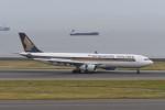 kuro2059さんが、中部国際空港で撮影したシンガポール航空 A330-343Xの航空フォト(写真)