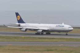 kuro2059さんが、中部国際空港で撮影したルフトハンザドイツ航空 A340-313Xの航空フォト(飛行機 写真・画像)