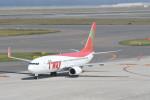 kuro2059さんが、中部国際空港で撮影したティーウェイ航空 737-8GJの航空フォト(飛行機 写真・画像)