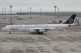 kuro2059さんが、中部国際空港で撮影したルフトハンザドイツ航空 A340-311の航空フォト(飛行機 写真・画像)