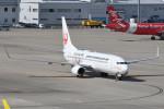kuro2059さんが、中部国際空港で撮影した日本トランスオーシャン航空 737-8Q3の航空フォト(飛行機 写真・画像)