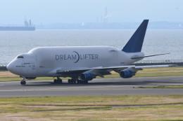 kuro2059さんが、中部国際空港で撮影したボーイング 747-409(LCF) Dreamlifterの航空フォト(飛行機 写真・画像)