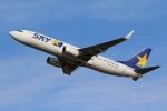 やまけんさんが、仙台空港で撮影したスカイマーク 737-82Yの航空フォト(写真)