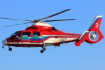 takaRJNSさんが、ホンダエアポートで撮影した埼玉県防災航空隊 AS365N3 Dauphin 2の航空フォト(写真)