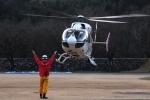SAMBAR-2463さんが、群馬県沼田市(場外)で撮影した朝日航洋 BK117C-2の航空フォト(写真)