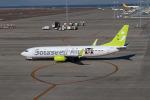 さっしんさんが、中部国際空港で撮影したソラシド エア 737-86Nの航空フォト(写真)