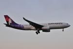 Orange linerさんが、成田国際空港で撮影したハワイアン航空 A330-243の航空フォト(写真)