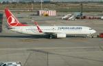 pringlesさんが、バルセロナ空港で撮影したターキッシュ・エアラインズ 737-8F2の航空フォト(写真)