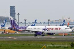 panchiさんが、成田国際空港で撮影した香港エクスプレス A321-231の航空フォト(飛行機 写真・画像)