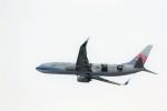 T.Sazenさんが、関西国際空港で撮影したチャイナエアライン 737-8FHの航空フォト(飛行機 写真・画像)