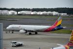くーぺいさんが、成田国際空港で撮影したアシアナ航空 A321-231の航空フォト(写真)
